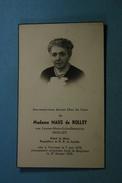 Louise Biolley épse Maus De Rolley Verviers 1878 1954 /7/ - Imágenes Religiosas