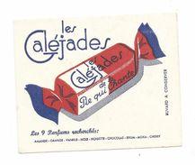 """Ancienne BUVARD """" Les Caléjades"""" De La PIE QUI CHANTE - Buvards, Protège-cahiers Illustrés"""