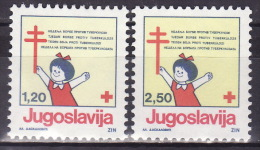 YUGOSLAVIA 1991. Tuberculosis, MNH (**):VF - Bienfaisance
