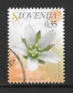 Timbre De 2007 (o) - Fleur - Slovénie