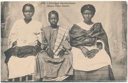 AFRIQUE OCCIDENTALE, FORTIER - Jeunes Filles Ouolof - Autres