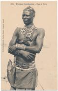 AFRIQUE OCCIDENTALE, FORTIER - Type De Diola - Postcards