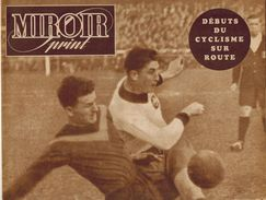 MIROIR SPRINT N° 196 1950 LOSC LENS Vrzanova Button Diot Lapebie Frosio Sterckx Tirlemont St Tronc Hasselt Famechon Pep - Sport