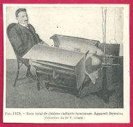 Bain Local De Chaleur Appareil Dowsing Larousse Médical Illustré 1929 - Vieux Papiers