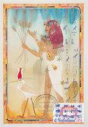 D30403 CARTE MAXIMUM CARD FD 1995 NETHERLANDS - VIRGIN SIGNS OF THE ZODIAC - ASTROLOGY CP ORIGINAL - Astrology