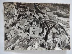 CPSM (12) - COMPEYRE - AERIENNE- LA PLACE DE L'EGLISE ET LE VIADUC - C1971 - PHOTO VERITABLE -  R3050 - Autres Communes
