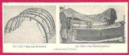 Bain De Lumière Bain Dowsing Larousse Médical Illustré 1929 - Vieux Papiers