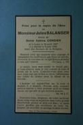 Jules Balanger épx Cordier Leuze 1867 1939 /22/ - Imágenes Religiosas