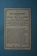 Maria Smalle épse Maillard Brugge 1854 St-Gillis 1888 /26/ - Devotion Images
