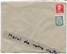 - Deux Timbres De 5 Sur Enveloppe Vierge,  Ancien, 2 Stamps, Rien Au Verso,  TBE, Scans.. - Cartas