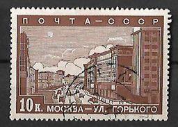RUSIA 1939 EL NUEVO MOSCU - 1923-1991 URSS
