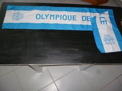 ECHARPE  FOOT FOOTBALL 211D OM OLYMPIQUE DE MARSEILLE - Sin Clasificación