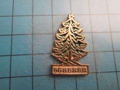 Pin616c Pin's Pins / ARBRE VERT SAPIN DE NOEL SCHERER   , Belle Qualité !!!    Marquage Au Dos : ---- - Weihnachten