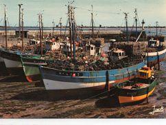 Mogueriec Le Port Des Langoustiers Bateaux De Pêche - Autres Communes