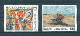 France Timbre De 1987 Tableaux  N°2473/74  Neuf ** Parfait - Ungebraucht