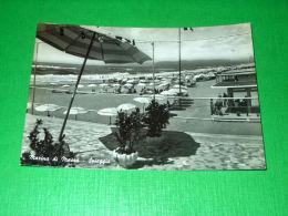 Cartolina Marina Di Massa - Spiaggia 1955 - Massa