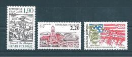 France Timbre De 1987   N°2475 A 2477  Neuf ** Parfait Vendu Prix De La Poste - Ungebraucht