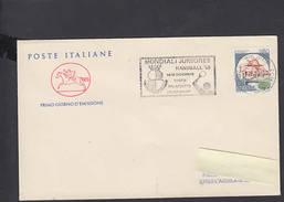 ITALIA  1985 - Annullo Speciale - Handball - Mondiali Juniores - Pallamano