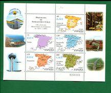 458934341 SPANJE 2001 POSTFRIS MINT NEVER HINGED EINWANDFREI  YVERT 3410 3411 3412 3413 3414 - 2001-10 Unused Stamps