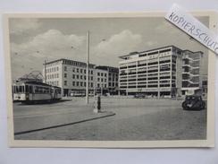 Kiel, Holstenbrücke, Strassenbahn, Tram, 1955 - Kiel