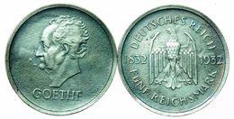 Funf Reichsmark - Geothe - Germania