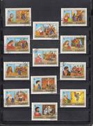 FUJEIRA  1970 - 12 Valori - Crocifissione Di Gesù E Santi - Fujeira