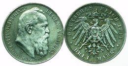3 MARK - OTTO - PRINCE REGENT LUITPOLD 1911 - Germania