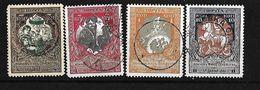 RUSIA 1915-17 SELLOS DE BENEFICIENCIA SERIE COMPLETA - 1917-1923 República & República Soviética