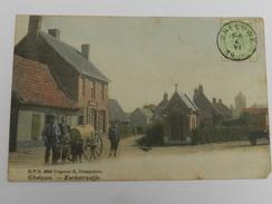 Gheluwe - Kerkstraatje - D.V.D. 9259 Uitgever R. Ghesquiere - Belgique