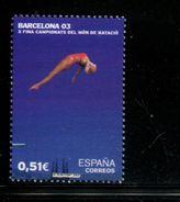 458935980 SPANJE 2003 POSTFRIS MINT NEVER HINGED EINWANDFREI  YVERT 3561 - 1931-Aujourd'hui: II. République - ....Juan Carlos I