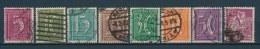 Duitse Rijk/German Empire/Empire Allemand/Deutsche Reich 1921 Mi: 158-165 Yt: 138-145 (Gebr/used/obl/o)(2542) - Duitsland