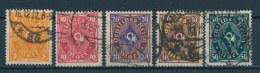 Duitse Rijk/German Empire/Empire Allemand/Deutsche Reich 1922 Mi: 205-209 Yt: 199-203 (Gebr/used/obl/o)(2543) - Duitsland