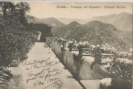 Ravello - Terrazza Del Giardino - Palazzo Rufolo Con Dedica Di Richard Wagner - Salerno