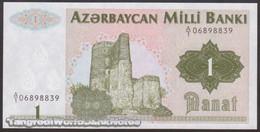 TWN - AZERBAIJAN 11 - 1 Manat 1992 Prefix A/1 UNC - Azerbaigian