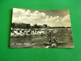 Cartolina Cattolica - Alberghi A Mare 1952 - Rimini