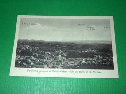 Cartolina Valdobbiadene - Panorama Generale Visto Dal Colle Di S. Floriano 1924 - Treviso