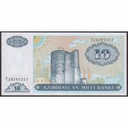 TWN - AZERBAIJAN 16 - 10 Manat 1993 Prefix A/1 UNC - Azerbaigian