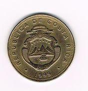 )  COSTA RICA  100 COLONES  1999 - Costa Rica