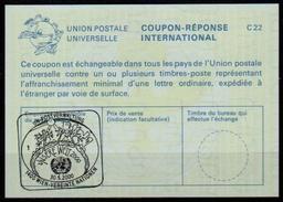 UNITED NATIONS VIENNA UNO WIEN UNSERE WELT 2000  30.05.2000 Internat. Reply Coupon Reponse Antwortschein IRC IAS La25 - Umweltschutz Und Klima