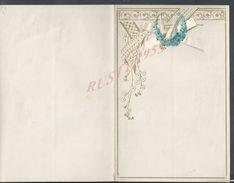 PAPIER LETTRE DECOUPIS FLEURS & OISEAUX 4 PAGES VIERGE : - Animaux