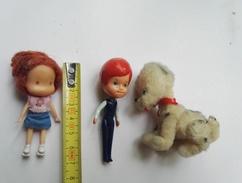 Personnage   Miniature Ancien Chien Animaux - Autres