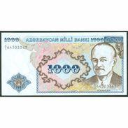 TWN - AZERBAIJAN 20a - 1.000 Manat 1993 Prefix A/1 UNC - Azerbaigian