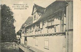 A-17.6804 : WEISSENBURG I E.   ALTES HAUS 1535-1599.  JOHANNISGASSE 199 - Weissenburg