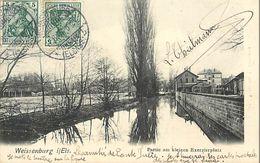 A-17.6810 : WEISSENBURG I. E.   PARTIE AM KLEINEN EXERZIERPLATZ - Weissenburg