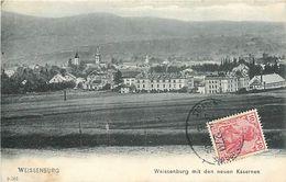 A-17.6811 : WEISSENBURG I. E.   MIT DEN NEUEN KASERNEN - Weissenburg