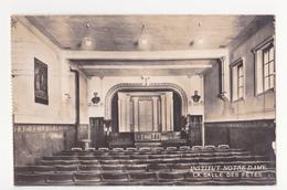 Bruxelles: Institut Notre Dame: La Salle Des Fêtes.(fotokaart) - Enseignement, Ecoles Et Universités