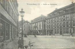 A-17.6812 : WEISSENBURG I. E.   PARTIE AM MARKTPLATZ - Weissenburg