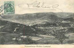 A-17.6813 : WEISSENBURG I. E.   WEILER  LAUTERTAL. TIMBRES TAXES - Weissenburg