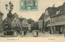 A-17.6819 : WEISSENBURG I. E.   KRAUTMARKT - Weissenburg