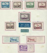 Belgique, à La Page, Sur Charniére ( Poste Aérienne ) - Airmail